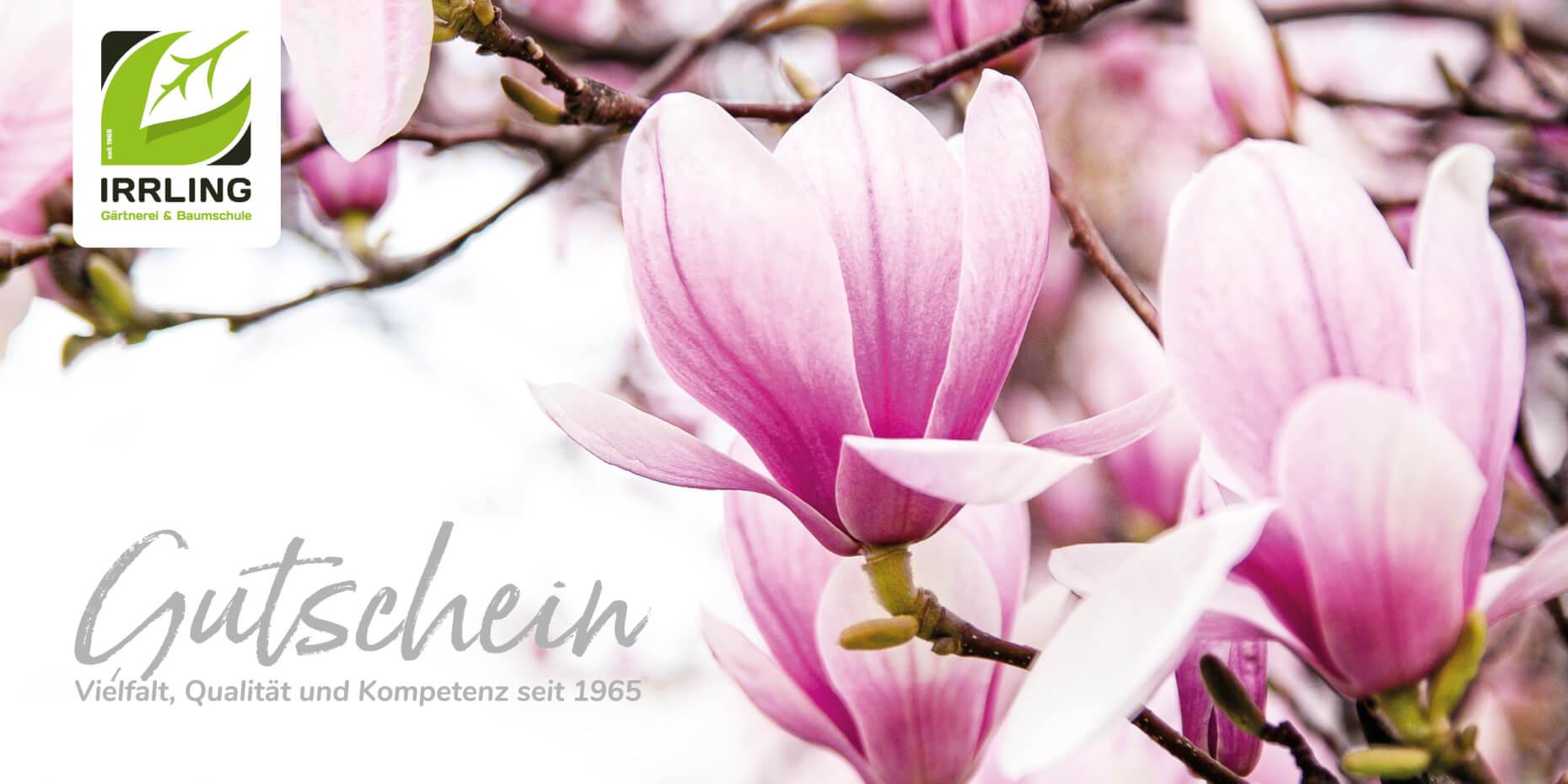 Gutschein Layout Frühling